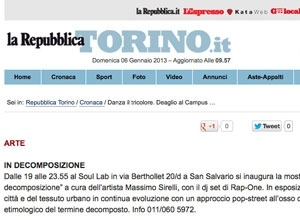 Repubblica.it, 2012