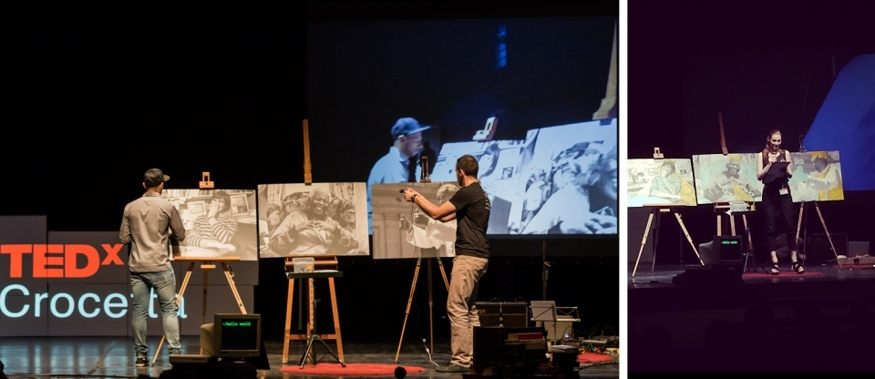 TEDx - Learn, Share, Innovate - Livepaint